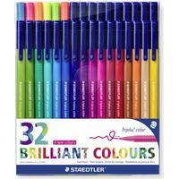 Staedtler Triplus Brilliant Colour 32 pc
