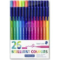 Staedtler Triplus Brilliant Colour 26 stk
