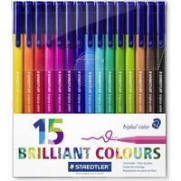 Staedtler 15 Brilliant Colour