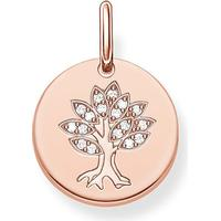Thomas Sabo Love Bridge Hänge Tree - Roseguld/Vit