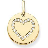 Thomas Sabo Love Bridge Hänge Heart - Guld/Vit