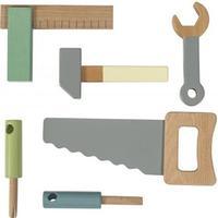Sebra Wooden Tool Set 6 pcs