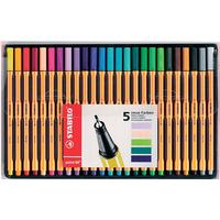 Stabilo Point 88 Fineliner Marker Pens 25-pack