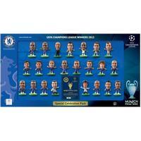 Soccerstarz Chelsea Champions League Celebration Pack 2012 Ltd Edition