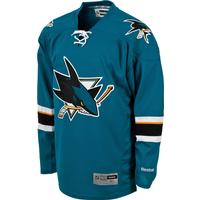 Reebok San Jose Sharks Premier Home Jersey Sr