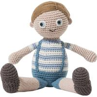 Sebra Crochet Doll Noah