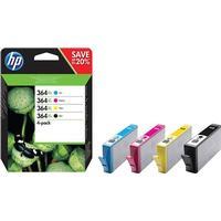 HP Bläck Combo Pack No.364XL (BK/C/M/Y)