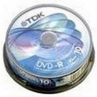 TDK TDK DVD-R 8cm (1x-2x) 1,4GB. Cakebox., 10-pak.