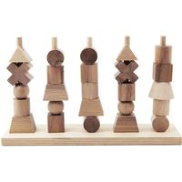 Wooden Story Natural Staking Toy