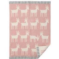 Klippan Yllefabrik Dear barnfilt pale pink (rosa)