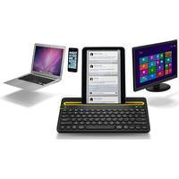 Logitech Bluetooth Multi-Device Keyboard K480, Hvid