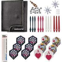 Unicorn Tri-Fold Darts Wallet And 73 Accessories