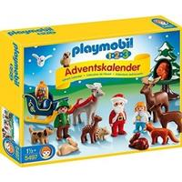 Playmobil 1.2.3 Advent Calendar Christmas in the Forest 5497
