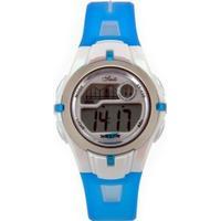 Blå junior armbåndur - digital