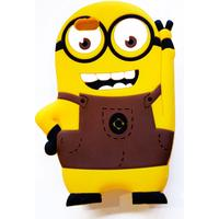 Minions cover i brun for iPhone og Samsung iPhone 5/5s