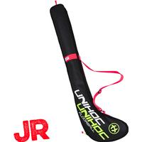 UNIHOC STICK COVER CRIMSON LINE JUNIOR 80-87CM BLACK