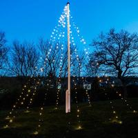 Sirius David 360L Lights for Flagpole Julbelysning