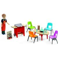 Djeco Barbecue & Accessories Doll House Set