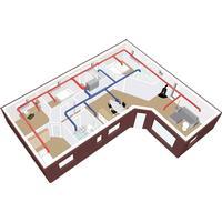 Vink ventilation DUKA VILLAVENT PRO PAKKE 200 M2 M/AGGREGAT VENT302   *S