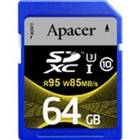 Apacer SDXC UHS-I U3 95/85MB/s 64GB