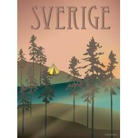 Vissevasse Sweden Woods 50x70cm Affisch