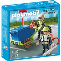 Playmobil Sanitation Team 6113