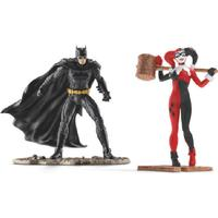 Schleich Batman Vs Harley Quinn Scenery Pack 22514