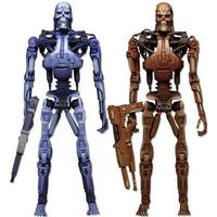 NECA Robocop vs The Terminator Endoskeleton 2 Pack