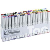Copic Sketch Marker 72 Set D