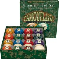 Aramith Camouflage 57mm 16-pack