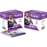 Xlyne BD-RE 25GB 2x Jewelcase 5-Pack