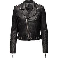 BLK DNM Leather Jacket 1 - Black (WKL201)