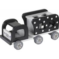 Kids Concept Star Wooden Shape Sorter Truck Black