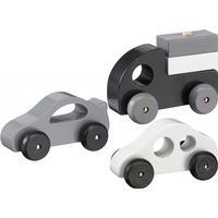 Kids Concept Wooden Cars Set of 3