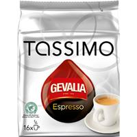 Tassimo Espresso 16 Kaffe Kapsler