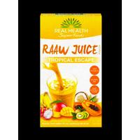 Real Health Raaw Juice Tropical Escape 7x7g