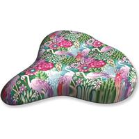 Liix, Sadelskydd - Saddle Cover Catalina Estrada Flowers & Flamingos