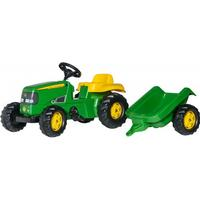 Rolly Toys Rolly Kid John Deere Tractor & Trailer