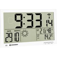 Bresser MyTime Jumbo LCD Weather 33cm Väggklocka
