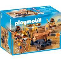 Playmobil Egyptian Troop with Ballista 5388