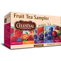 Celestial Fruit Tea Sampler 18 Tepåsar