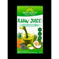 Real Health Raaw Juice Go Green 7x7g