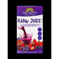 Real Health Raaw Juice Bär Blast 7x7g