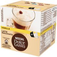 Nescafé Dolce Gusto Vanilla Latte Macchiato 8 kaffe kapslar