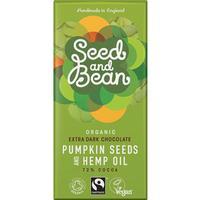Seed and Bean Choklad Mörk Pumpa & Hampa 85g