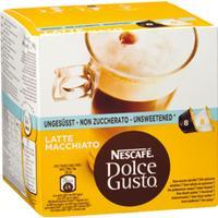 Nescafé Dolce Gusto Latte Macchiato Unsweetened 8 Kaffe Kapsler