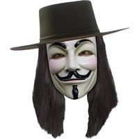 Rubies Costumes Co. V for Vendetta Peruk - One size