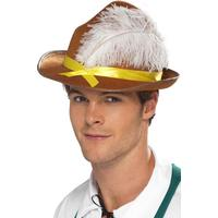 Smiffys Bavarian Hat Brown