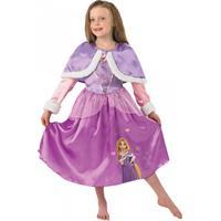 Rubies Costumes Co. Rapunzel med Cape Barn Maskeraddräkt - Small