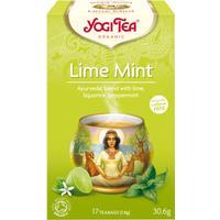 Yogi Tea Lime Mint 17 Tepåsar